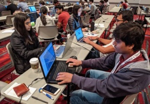 Hack@DAC competition. (Image: Daniel Holcomb.)