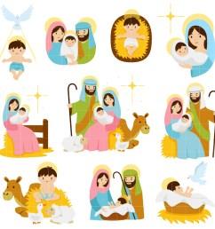 nativity scenes set semi exclusive clip art set for digitizing and more [ 1653 x 1653 Pixel ]