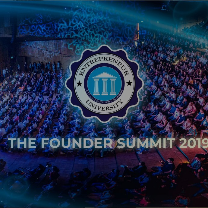 Founder Summit 2019 - Entrepreneur University - Seminar Finder