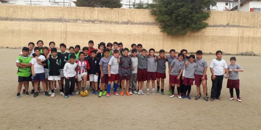 Partidos amistosos de fútbol marcaron la primera semana de octubre