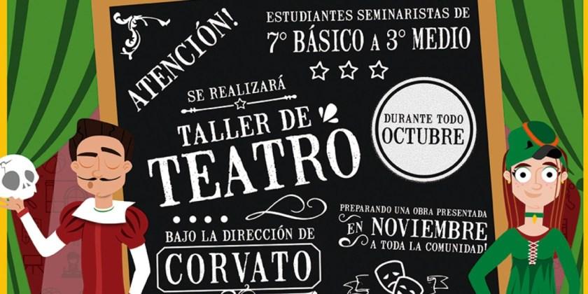 Taller de teatro: Luz, cámara ¡Seminario!