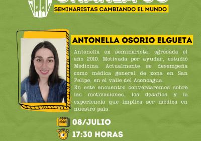 CHARLA SC: DESAFÍOS Y EXPERIENCIA QUE IMPLICA SER MÉDICA EN CHILE