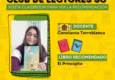 CLUB DE LECTORES SC: EL PRINCIPITO