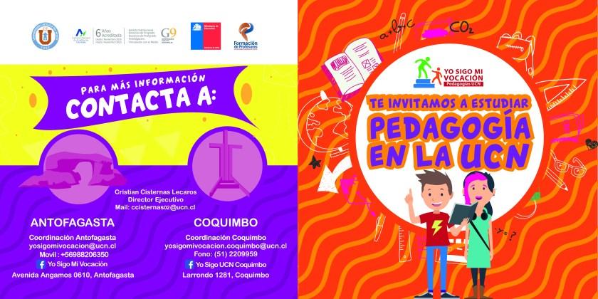 Estudiantes participarán en charla «Yo sigo mi vocación» de la Universidad Católica del Norte
