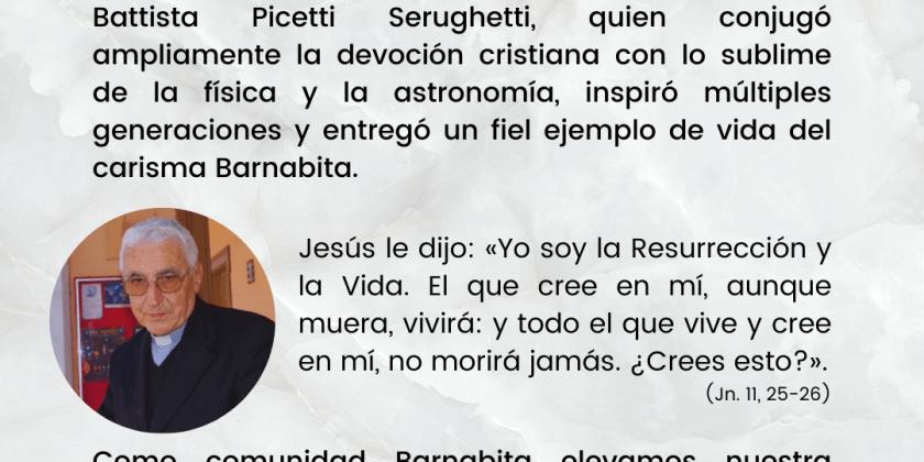 SENSIBLE FALLECIMIENTO P. PICETTI