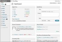 WordPress 3.2 do Dashboard