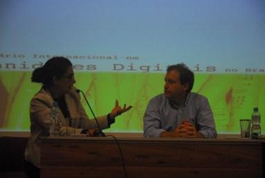 25/10. Maria Clara Paixão de Sousa, Marcelo Finger, Sessão de Projetos. Foto: Jorge Viana.