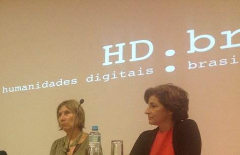 25/10. Jacqueline León e Rita Marquilhas, Mesa dos Linguistas. Foto: Dália Guerreiro.