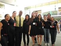 Taís, Kathlyn, Augusto, Danielle, Elena, Bruno, Marília, Raquel, Maria Clara, Gilcélia. Foto: ?.