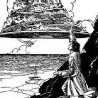 "Jonathan Swift. ""Viaje a Laputa"" en Los viajes de Gulliver."