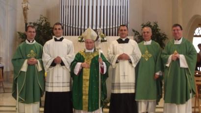Celibacy vows ceremony
