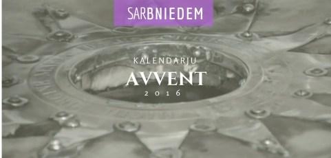 sarBNIEDEM: Kalendarju tal-Avvent 2016