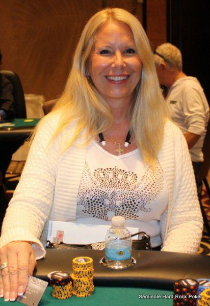 Event 19 NLH 9th Place  Debbie Migliore 711  Seminole Hard Rock Poker Open