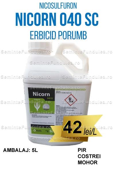 NICORN 040 SC, 5L, erbicid porumb, Compania Seminte Fundulea