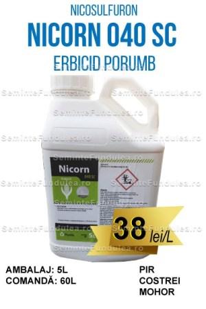 NICORN 040 SC, 60L, erbicid porumb, Compania Seminte Fundulea