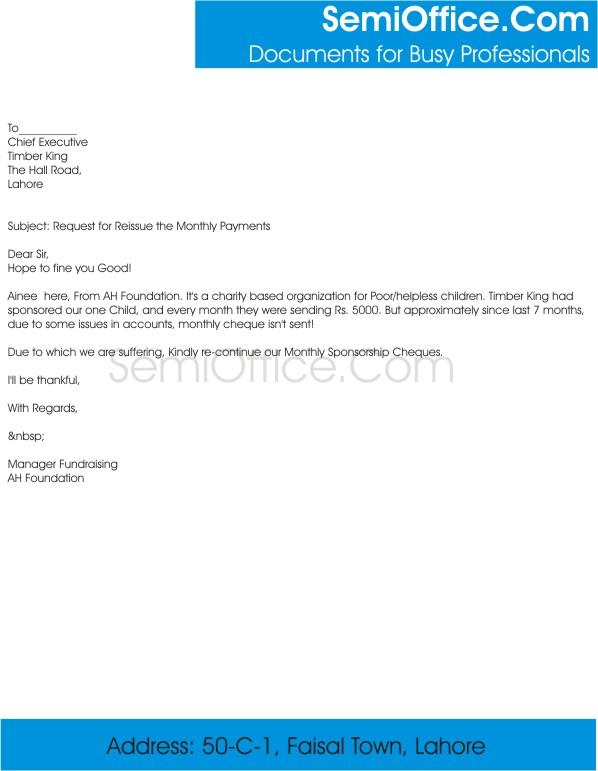 Payment request letter selol ink payment request letter altavistaventures Image collections