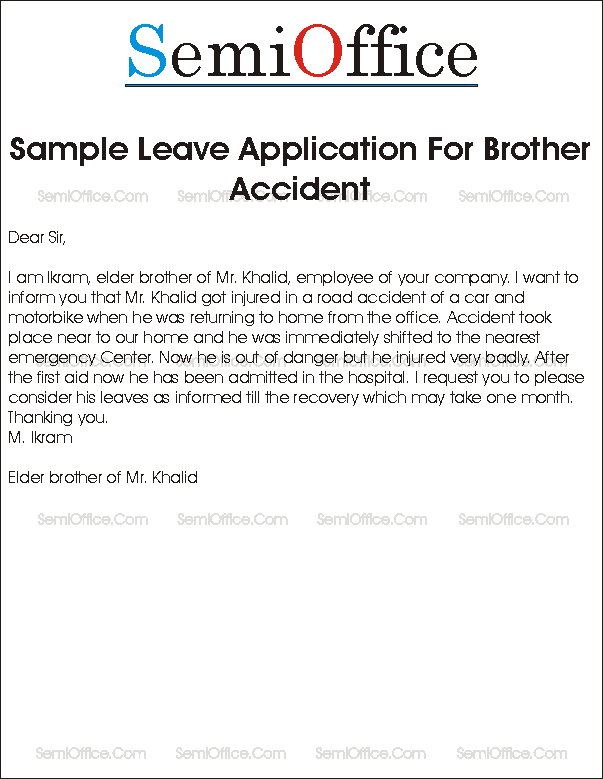 sympathy letter for accident