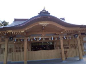 方違神社新社殿
