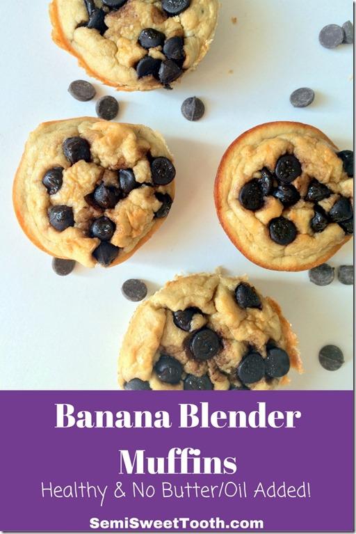 Banana Blender Muffins