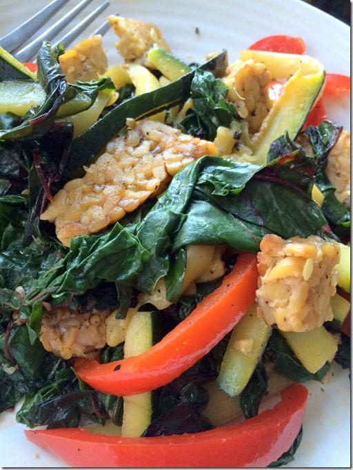 Warm Tempeh Salad _3