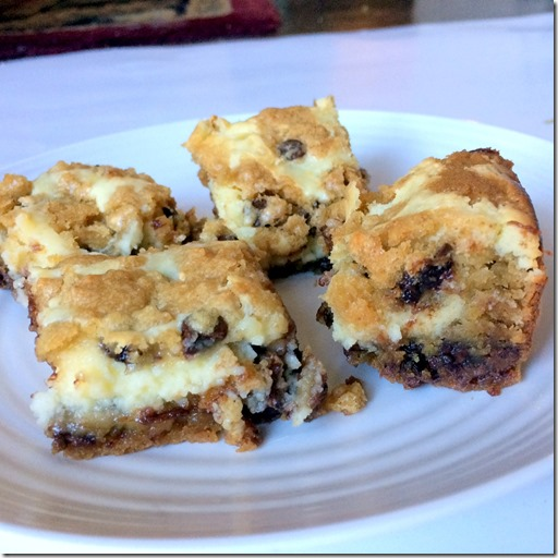 Chocolate Chip Cookie Cheesecake Bars _3