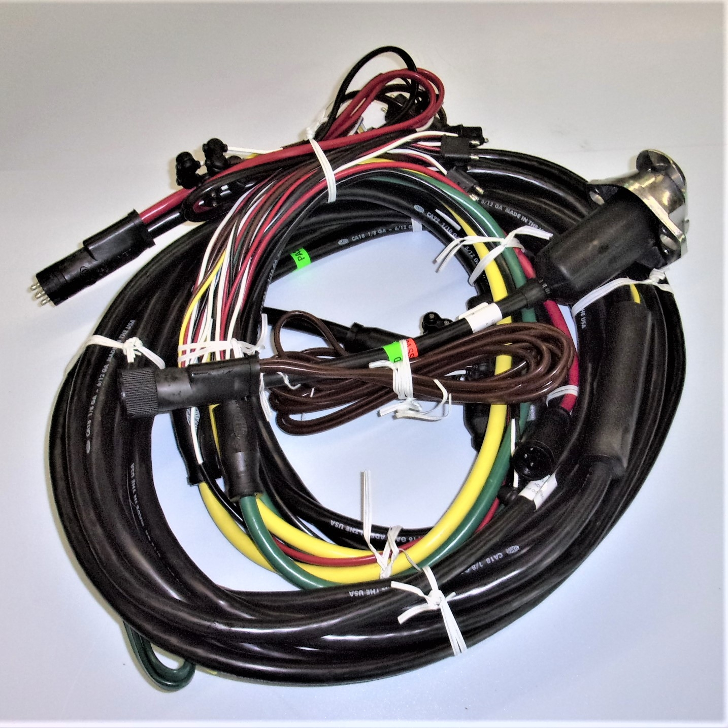 hight resolution of universal 48 trailer wiring harness kit iloca services inc lowboy trailer wiring harness
