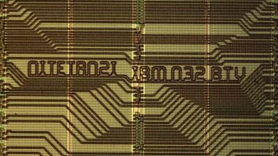 "The part number on the 4"" die: OITETR02I IBM 032 BTV."