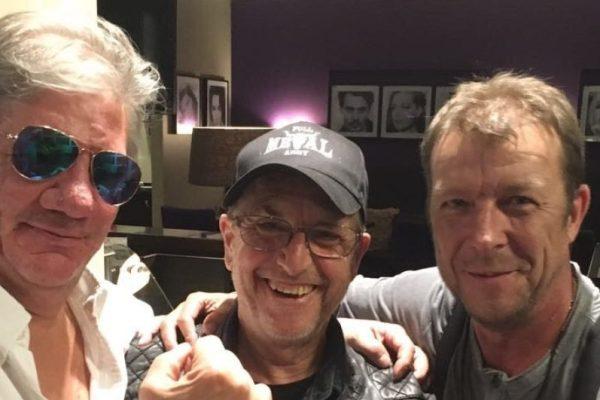 Martin Semmelrogge mit Claude Oliver Rudolph und Kultsänger Maika in Breakdown Forest bei myregio.tv