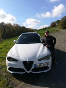 Martin und Alfa Giulia