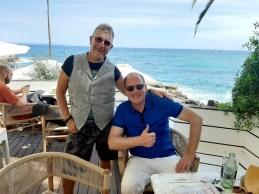 Martin und Autor Kai Fischet