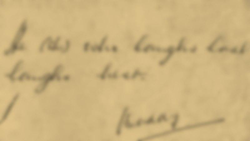 Primul autograf [T.O. Bobe, Andra Pavel]