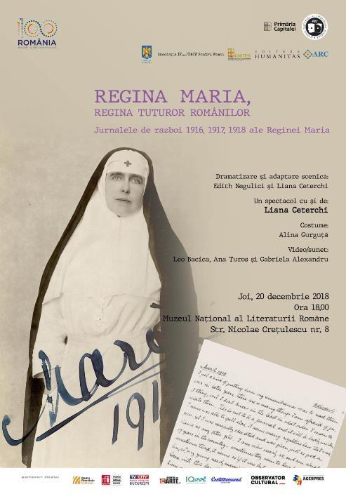 Regina Maria, Regina tuturor românilor – premieră