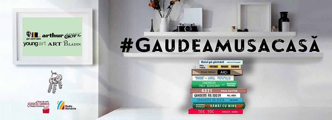 #GaudeamusAcasă 2020. Oferta Grupului Editorial ART