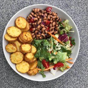 Kartoffeln mit Bohnen Rezept