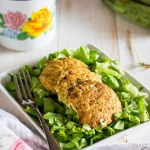 Burger light di pesce e verdure