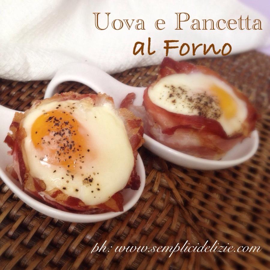 Uova e Pancetta al Forno