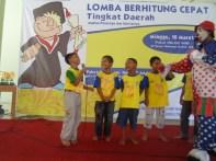 Hiburan Badut Kompetisi Sempoa Kreatif di Dolopo Madiun Maret 2013