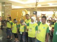 Juara Team Panitia Olimpiade Sempoa Kreatif,November 2008