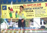 Sambutan Dirut Olimpiade Sempoa Kreatif di Monkasel Maret 2007