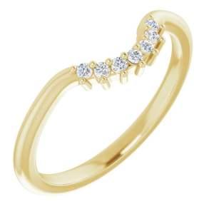 Verigheta Dama Aur Galben Contur Accent Diamnate bijuterii