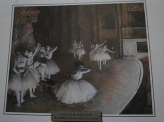 Edgar Degas - Repetition d'un ballet sur scène