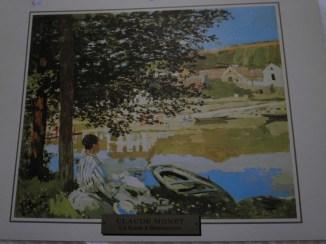 Claude Monet - La Seine à Bennecourt
