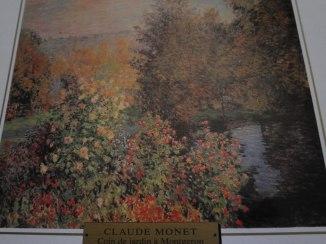 Claude Monet - coin de jardin à Montgeron