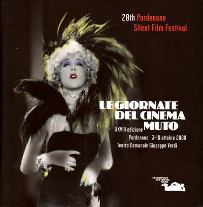 Catalogo delle Giornate 2009, elaborazione della copertina Calderini-Marchese, foto Fotocollection Filmmuseum Vienna