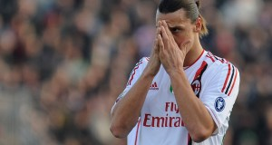 Milanisti praying for the Swede's return | Valerio Pennicino/Getty Images