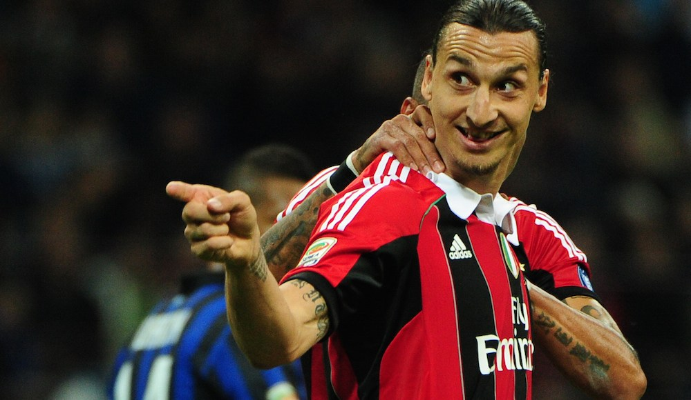 Zlatan linked with sensational San Siro return. | Getty Images