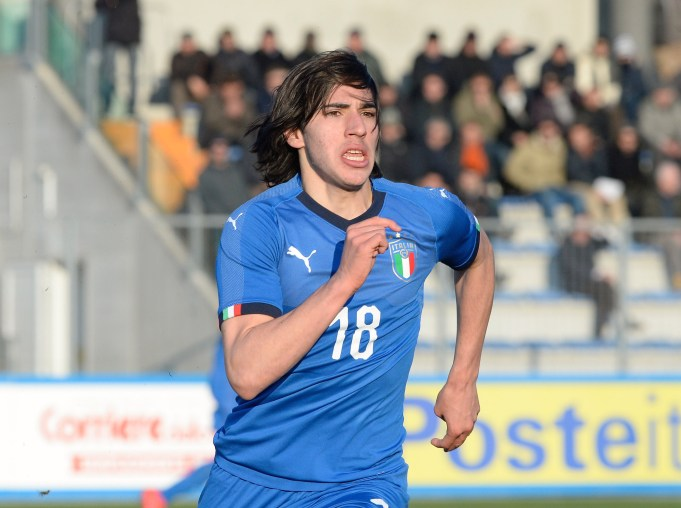 during the Elite Round U19 match between Italy and Greece on March 21, 2018 in Lignano Sabbiadoro, Italy.