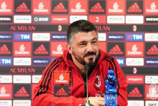 Gattuso press conference