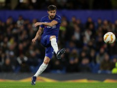 LONDON, ENGLAND - NOVEMBER 29: Cesc Fabregas of Chelsea in action during the UEFA Europa League Group L match between Chelsea and PAOK at Stamford Bridge on November 29, 2018 in London, United Kingdom. (Photo by Richard Heathcote/Getty Images)
