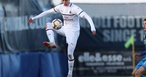 Daniel Maldini of AC Milan